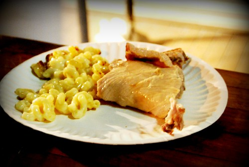 $7 Pork + Mac n'Cheese Plate at The Gorbals (Ilan Hall), DTLA Artwalk by you.