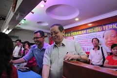 Lim Kit Siang & Tony Pua