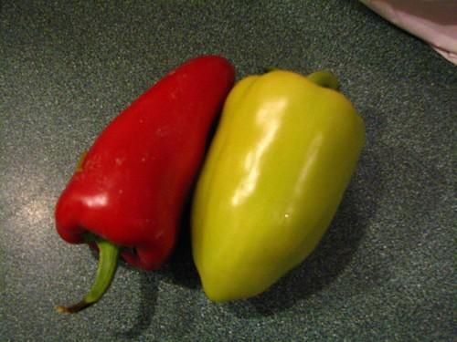 Semi-hot peppers