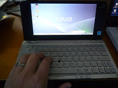 Typing on Sony P Series