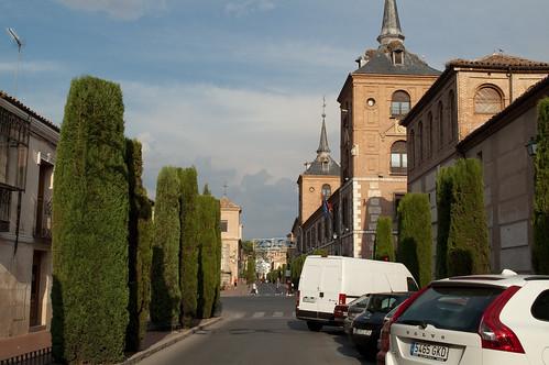 Calle Colegios desde la calle Santa Úrsula en la actualidad