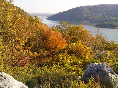 Hudson River from Bear Mountain Bridge Road, Peekskill, NY