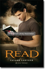 New Moon Taylor Lautner READ Poster