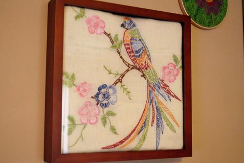 Vintage Bird of Paradise