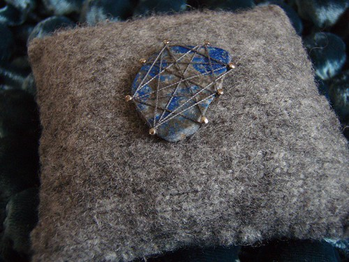 lapis pincushion - 1