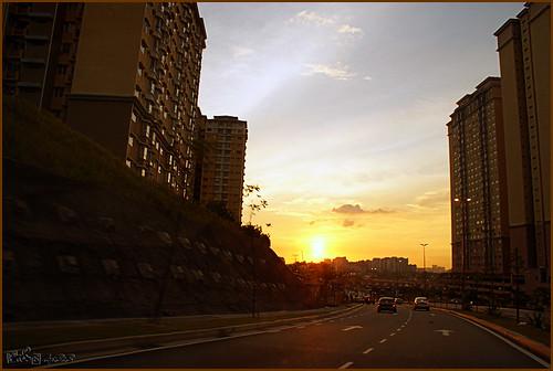 Sunset at Alam Damai