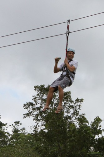 Fly Pinoy Zipline in Caliraya