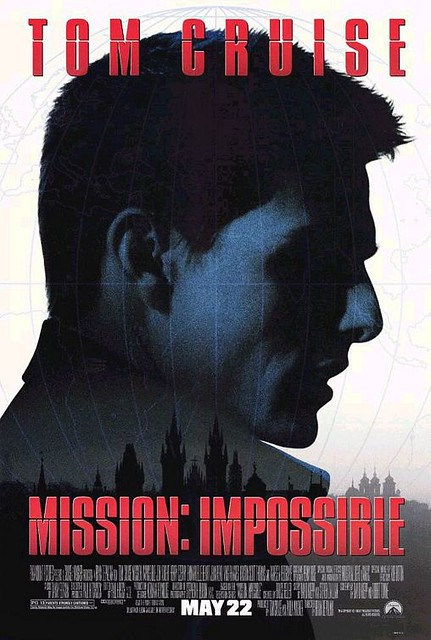 poster mission impossible 1