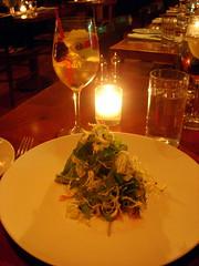 Arugula Salad and Sangria - Braeburn