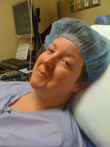 278/365: they said all this preop get up they made me wear made me look beautiful