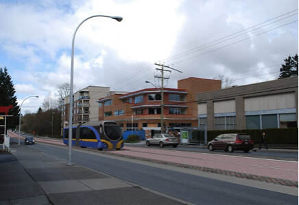 Surrey Rapid Transit Study rendering - 1