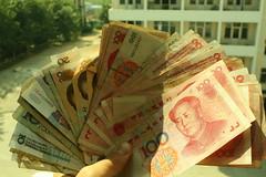Liasse de billets chinois