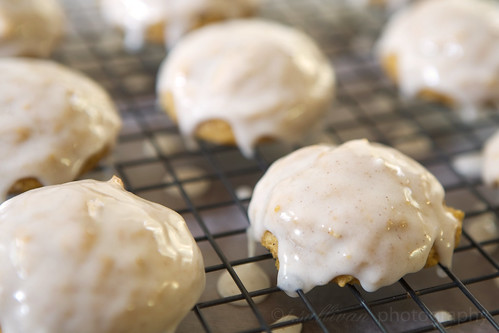 Cinnamon Glazed Pumpkin Cookies