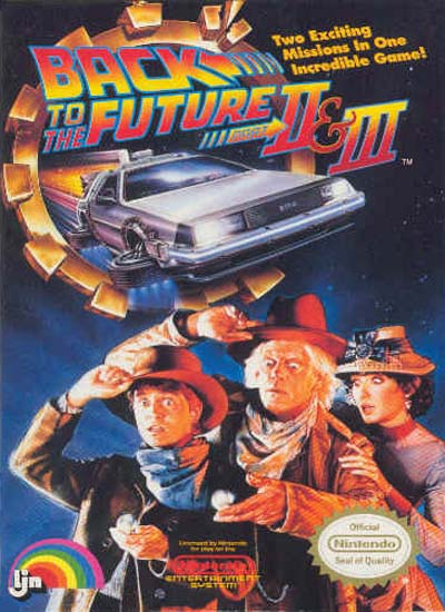 BTTF 2 and 3 video game