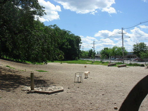A good sized park for being right in the city!!!