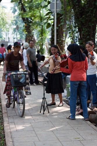 Taman Suropati Orchestra, Menteng, Jakarta