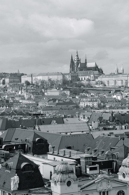 Praga desde el Ayuntamiento