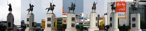 Around King Taksin's Statue