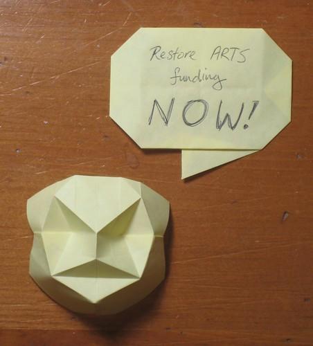 """Arts are folding"" by Joseph Wu, Vancouver"