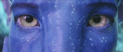 Avatar - Jake - Na'vi eyes