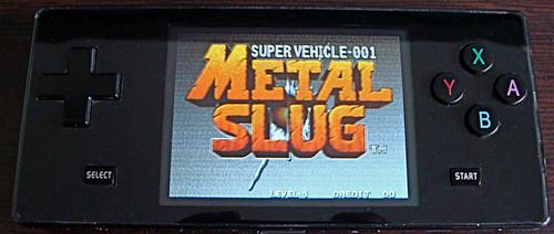 Dingoo running Metal Slug
