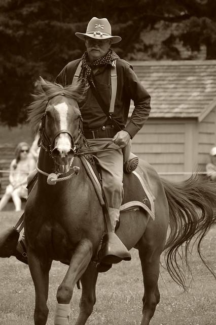 Mounted Rough Rider