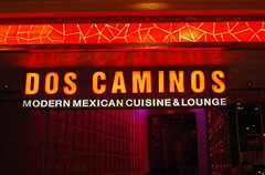 Dos Caminos in the Palazzo in Vegas