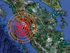 Gempa Bumi 7,6 SR Sumatera Barat (Kompas)