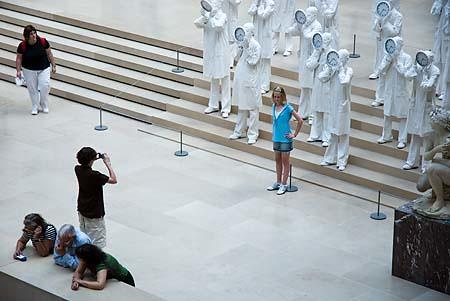 « Les statues étaient rigolotes »