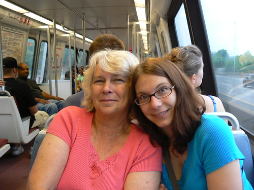 DC Fireworks - Mom and Vicky on Metro