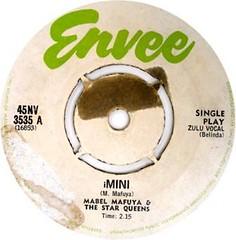 mabel mafuya & the star queens -iMini label