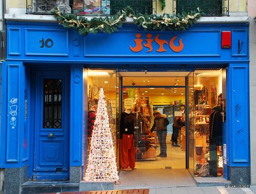 """""""Jitu"""", tienda de ropa y complementos situada en la calle Mercaderes de Pamplona"""