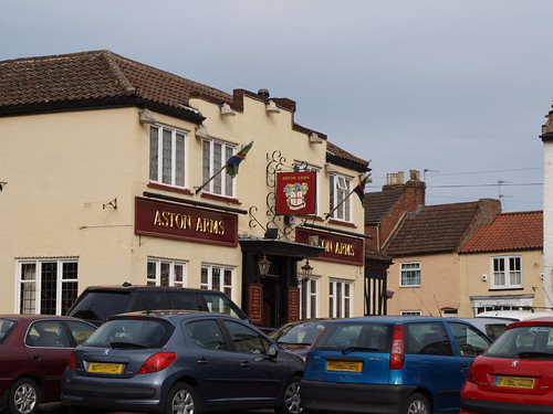 The Aston Arms in Market Rasen, where I had lunch with my friend Jason