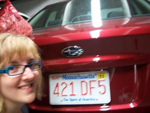 Massachusetts plates