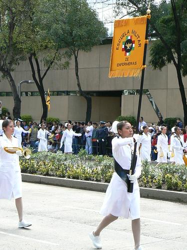 Desfile militar, México
