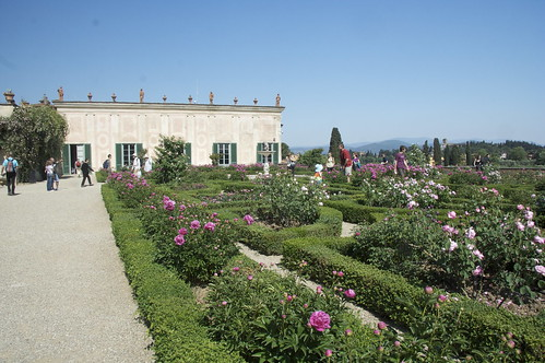 Knights' Garden and Porcelain Museum in Boboli Gardens