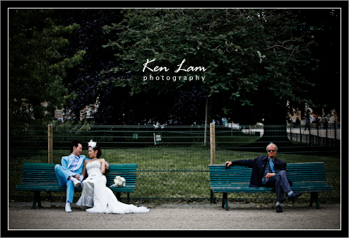 Joyce & Edward - Pre-wedding in Paris