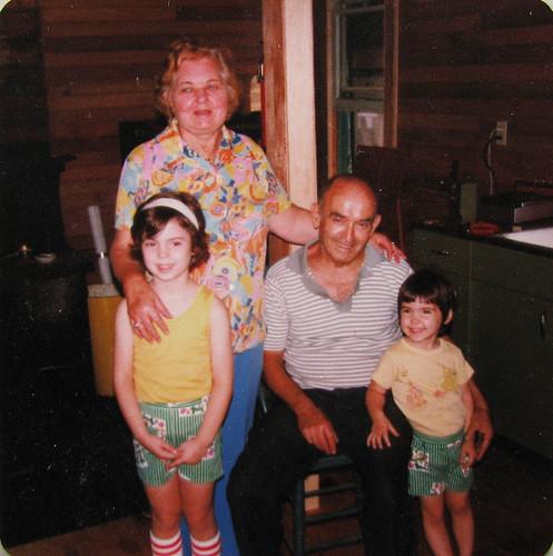 Me, my grandparents & my sister