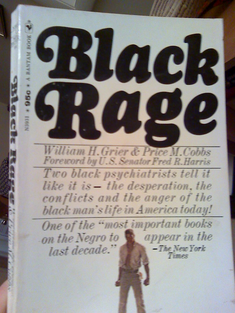 Black Rage, 1968, front cover