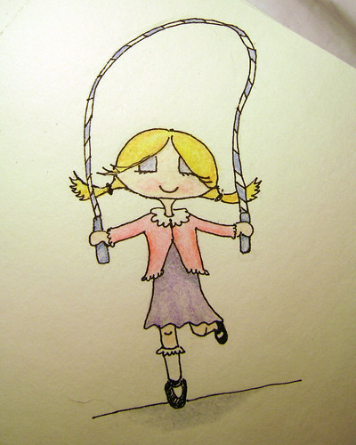 jump rope girl
