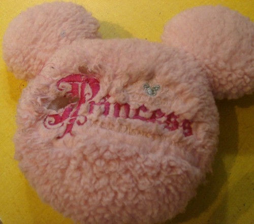 The Pink Princess Minnie Ears squeaked their last squeak this week.