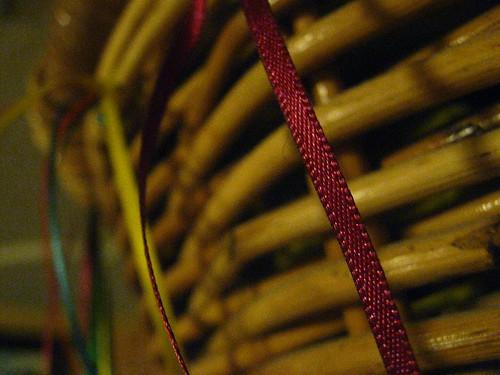 Ribbon on a Basket