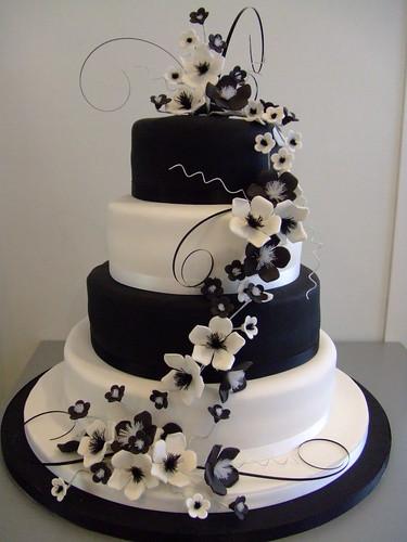 3936777867 1eae81d5df Baú de ideias: Decoração de casamento preto e branco
