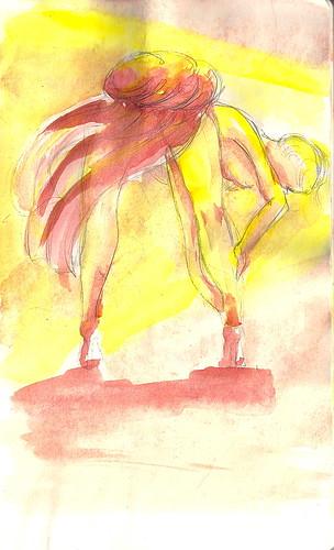 Sketch Two - a new nude by Jennie Rosenbaum