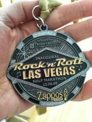 Rock 'n' Roll Las Vegas Medal