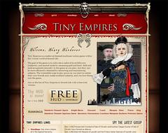 Tiny Empires website