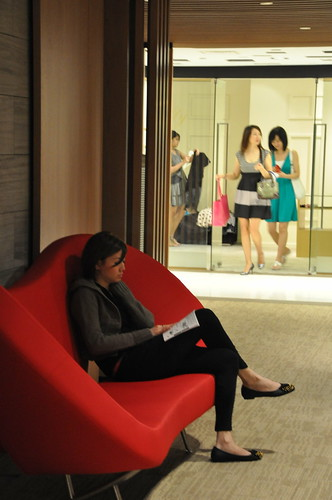 Taking Rest @ Mandarin Gallery