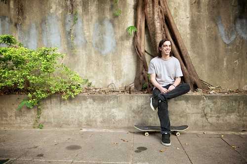 Skateboarder Portrait