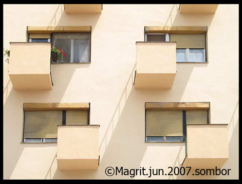 balconies, sombor