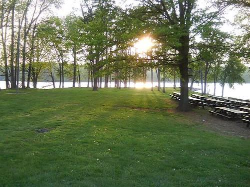 IL, Springfield 134 - Bridgeview Park sunset